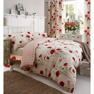 Catherine Lansfield Wild Poppy Bedding Set - Multi