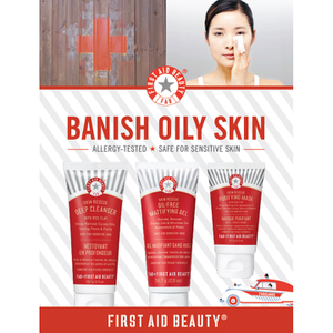 First Aid Beauty Bannish Oil Kit
