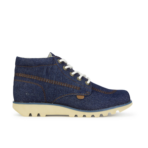 Kickers Men's Kick Hi Denim Boots - Dark Blue