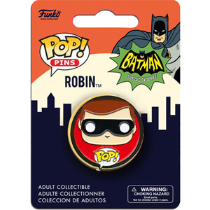 Badge Pop! Pin Robin DC Comics Batman Classic 1966