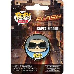 DC Comics The Flash Captain Cold Badge Pop! Pin