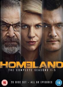 Homeland - Season 1-5