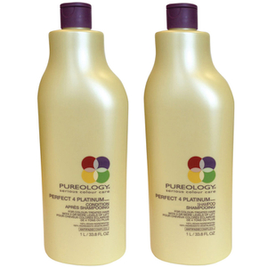 Pureology Perfect 4 Platinum Shampoo e Conditioner (1000 ml)