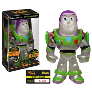 Figura Pop! Vinyl Hikari Sofubi Buzz Lightyear (brillo claro) - Toy Story