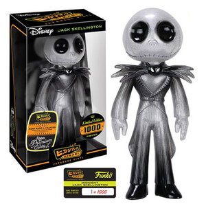 Nightmare Before Christmas Midnight Jack Skellington Hikari Sofubi Vinyl Figure