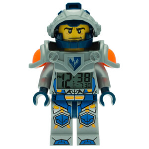 LEGO Nexo Knights Clay Mini Figure Alarm Clock