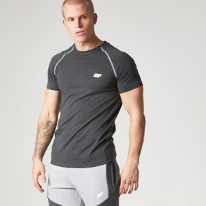 Myprotein Men's Performance Raglan Sleeve T-Shirt - Black