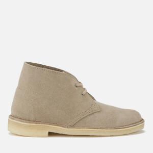 Clarks Originals Women's Suede Desert Boots - Sand