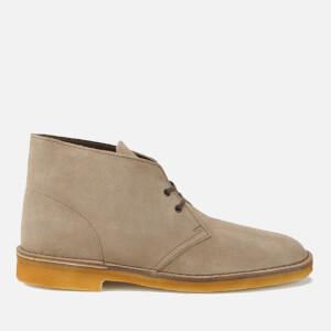 Clarks Originals Men's Desert Boots - Wolf Suede