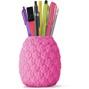 Seriously Tropical Pineapple Pen Pot - Pink