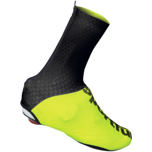 Sportful Lycra Shoe Cover - Black/Yellow Fluo