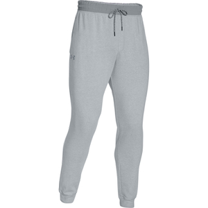 Under Armour Men's Tri-Blend Fleece Jogger Trousers - Light Grey