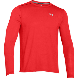Under Armour Men's Streaker Long Sleeve T-Shirt - Red