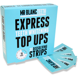 Mr Blanc Express Teeth Whitening Strips 30 remsor