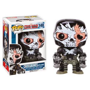 Captain America Civil War Crossbones Battle Damaged Funko Pop! Figuur