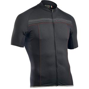 Northwave Evolution Full Zip Short Sleeve Jersey - Black