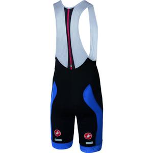 Castelli Velocissimo Bib Shorts - Black/Blue