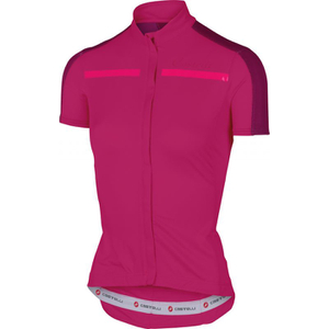 Castelli Women's Ispirata Short Sleeve Jersey - Pink