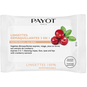 PAYOT Express 3-i-1 Cleansing Face Wipes