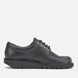Kickers Women's Kick Lo Lace Up Shoes - Black