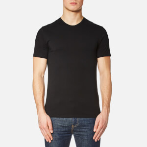 Calvin Klein Men's 2 Pack Crew Neck T-Shirt - Black