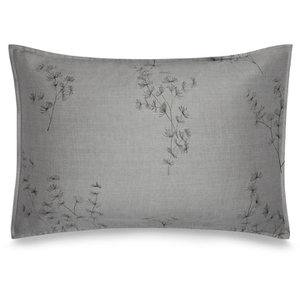 Calvin Klein Acacia Printed Pillowcase - Grey