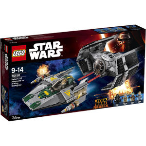 LEGO Star Wars: Vaders TIE Advanced vs. A-Wing Starfighter (75150)