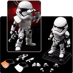 Star Wars The Force Awakens First Order Stormtrooper Egg Attack Figure