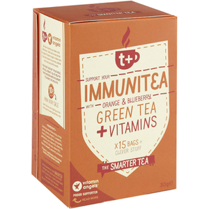 t+ Immunitea - Orange and Blueberry Flavoured Tea