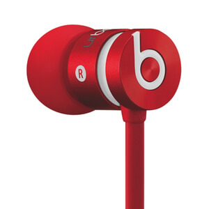 Beats by Dr. Dre urBeats In-Ear Headphones - Red (Manufacturer Refurbished)