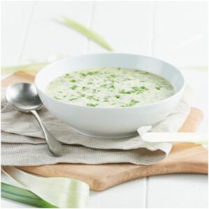 Huhn und Lauch Suppe