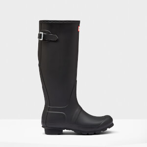 Hunter Women's Original Back Adjustable Wellies - Black