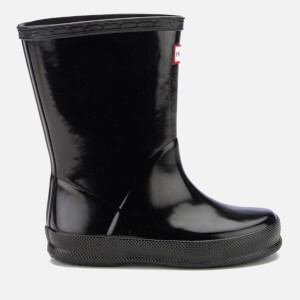 Hunter Toddlers' First Gloss Wellies - Black