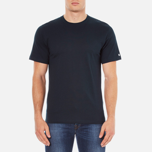 Carhartt Men's Short Sleeve Base T-Shirt - Navy/White