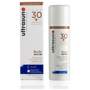 Ultrasun SPF30 Tinted Body Sun Protection (150ml): Image 2