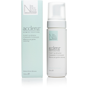 Dr. Nick Lowe acclenz Purify and Renew Foaming Cleanser 150 ml