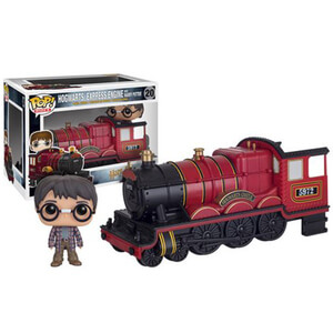 Figura Pop! Vinyl Harry y Locomotora Hogwarts Express - Harry Potter