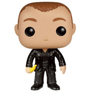Doctor Who POP! Television Vinyl Figuur 9th Doctor with Banana Funko Pop! Figuur