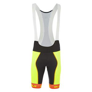 Alé PRR Bermuda Bib Shorts - Yellow/Orange
