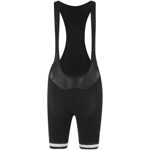 Alé Women's Plus Infinity Bib Shorts - Black/White
