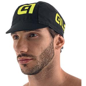 Alé Summer Cycling Cap - Black/Yellow