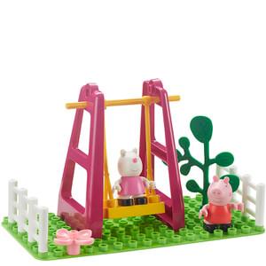 Peppa Pig Construction: Playground Swing Set