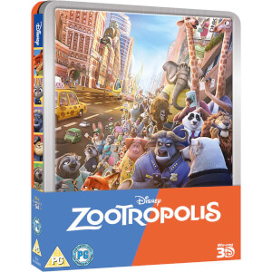 Zootropolis - Limited Edition Steelbook (UK EDITION)
