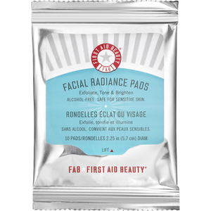 First Aid Beauty Facial Radiance Pads - 10 Pads (Free Gift)