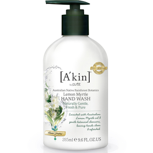 Akin Australian Native Rainforest Botanics Hand Wash - Zitronenmyrte