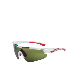 Salice 012 ITA Sports Sunglasses - White/Infrared