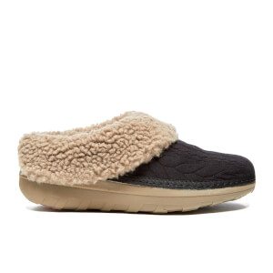 FitFlop Women's Loaff Quilted Slippers - Black
