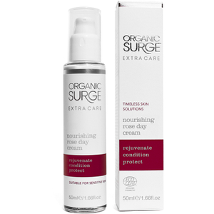 Extra Care Nourishing Rose Day Cream de Organic Surge (50ml)