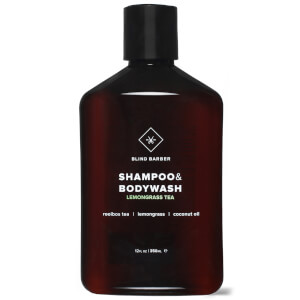 Blind Barber Lemongrass Tea Shampoo and Body Wash 350ml