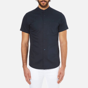 Selected Homme Men's Doneryder Short Sleeve Shirt - Dark Sapphire